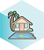 Accommodation icon hex 100.png